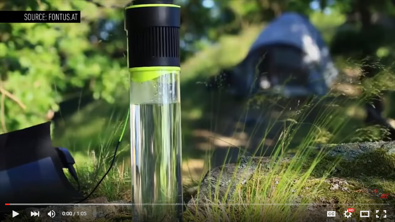 New Bike Attachment Generates Water As You Ride | Video