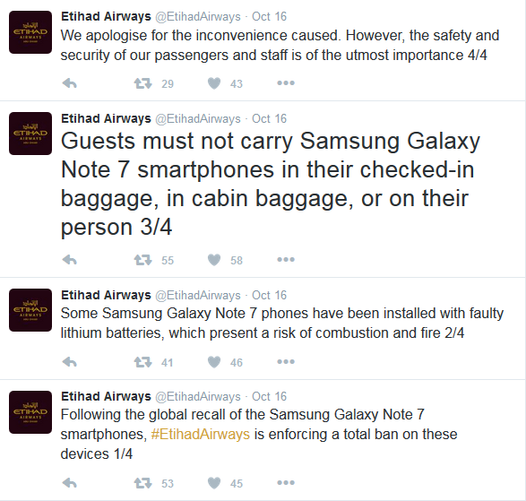 Galaxy Note 7 Banned from Dubai Airports, middle east technology news, uae technology news, technology news Dubai, uae technology analysis, Tech Bite Me